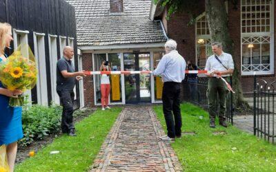 Opening expositie Rottumerplaat in Warffum